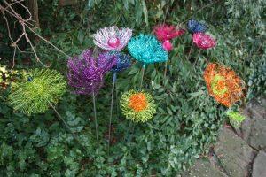 Kurs 3: Peppige DrahtblumenBlüten @ Blumenwerkstatt   Mutterstadt   Rheinland-Pfalz   Deutschland